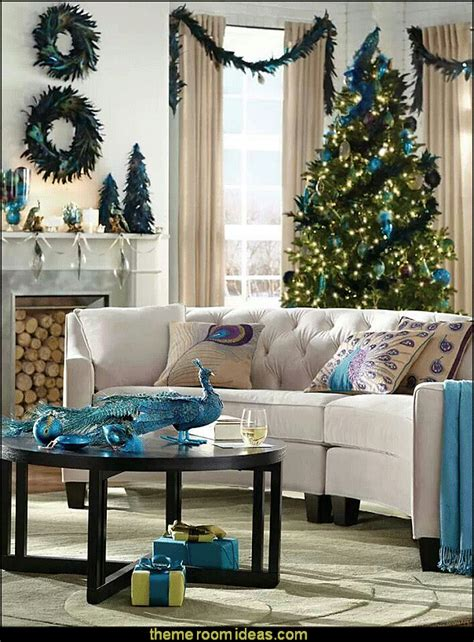 Peacock Decorating Ideas For Living Room by Decorating Theme Bedrooms Maries Manor Peacock Color