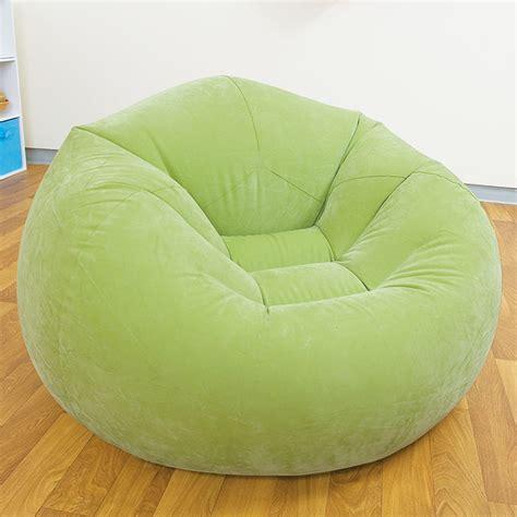 pouf chambre ado pouf gonflable fauteuil disponible en vert violet