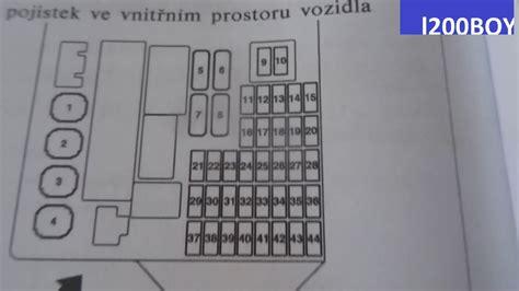 mitsubishi colt fuse box diagram description mitsubishi colt lighter fuse youtube