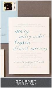 handwritten wedding invitations gourmet invitations With wedding invitation etiquette handwritten