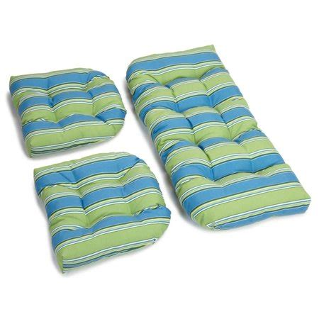 Wicker Settee Cushion Sets by 3 Pc Wicker Settee Designer Cushion Set Haliwell