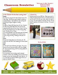runde39s room my new classroom newsletter With student newsletter templates free