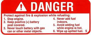 Danger Decal 1