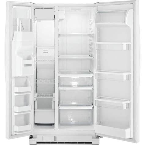 whirlpool wrsfiam  cu ft side  side refrigerator     spillguard glass