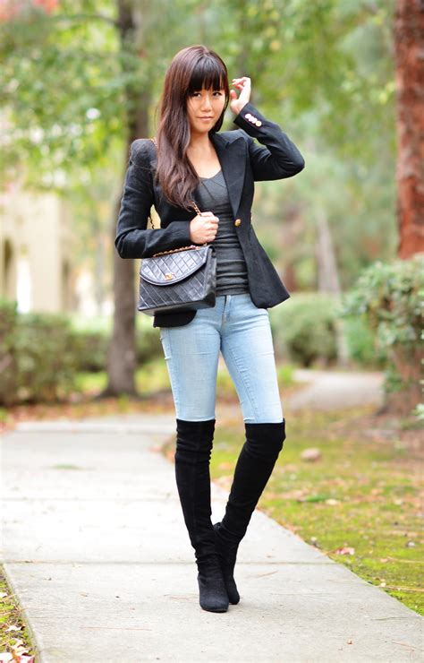 Outfit with Over-the-Knee Boots and 3 Ways to Wear Them | Lollipuff