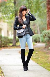 Outfit with Over-the-Knee Boots and 3 Ways to Wear Them   Lollipuff
