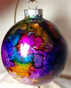 christmas ornaments alcohol ink a collection of other ideas to try diy ornaments acrylics