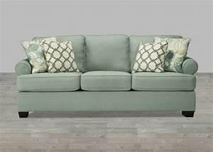 Seafoam green sofa vita 100 genuine leather sofa sea foam for Seafoam green sectional sofa