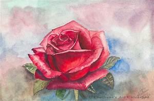 Chethana's Art Unleashed: Rose