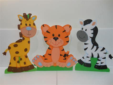 hermosas figuras en foami y anime animalitos de la selva bs 55 000 00 en mercado libre