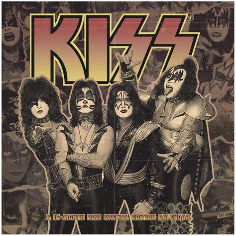 kiss  collectors edition calendar
