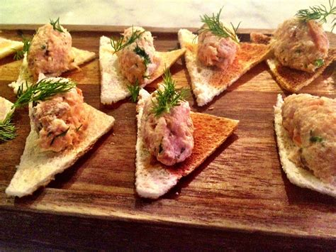 pate canapes the luxe is no more live smiths at spitalfields
