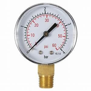 2017 Hot Professional Pool Spa Filter Water Pressure Gauge