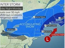 Blizzard Coming to NH on Sunday Weather Alert Concord