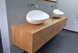 Waschbecken Mit Unterschrank Hängend : waschtisch h ngend ~ Bigdaddyawards.com Haus und Dekorationen