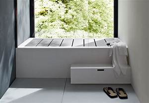 unico bathtub with top cover by rexa design stylepark With bathroom tub covers