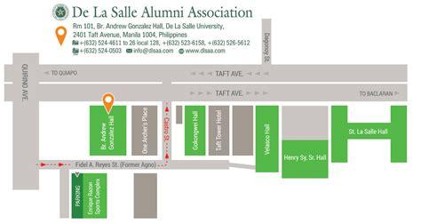 la salle address contact us de la salle alumni association