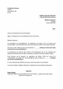 Contestation Fourriere Remboursement : lettre de contestation des recommandations de la commission de surendettement mod le de lettre ~ Gottalentnigeria.com Avis de Voitures
