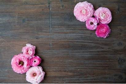Rustic Flowers Pink Table Wood Barn Letters