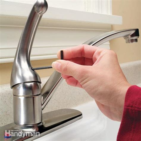 how to fix a dripping kitchen sink faucet how to repair a single handle kitchen faucet the family