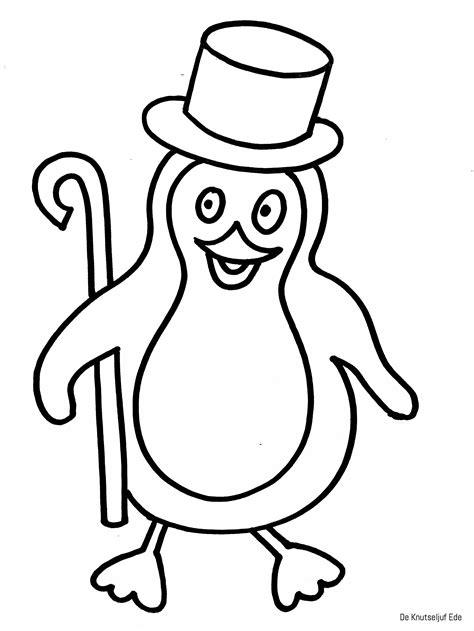 Kleurplaat Pinguins Boomhut by Kleurplaten Pinguins Kleurplaten Kleurplaten Pinguins