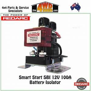 Smart Start Battery Isolator  U0026 Wiring Kit 12v