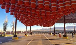 Repurposed traffic barrels reactivate a forgotten public ...