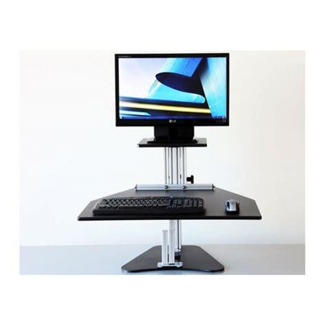 sit stand desk options kangaroo sit stand workstation ergonomics now