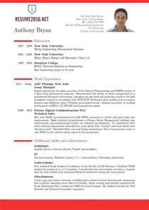 Resume Format With Photo by Best Resume Format Resume Cv