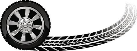 Royalty Free Tire Tread Clip Art, Vector Images