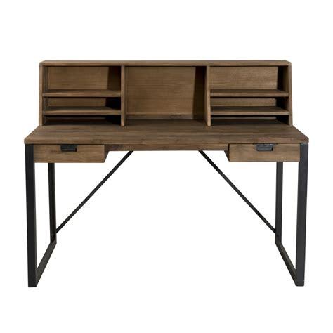 steel bureau bureau metal et bois conceptions de maison blanzza com