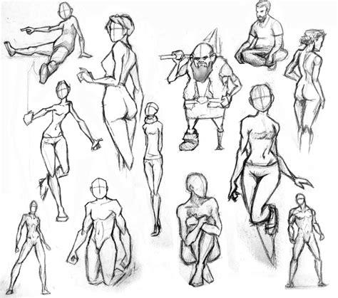figures  poses  maddcap  deviantart