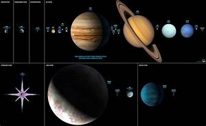 Planets by Size Comparison (page 4) - Pics about space