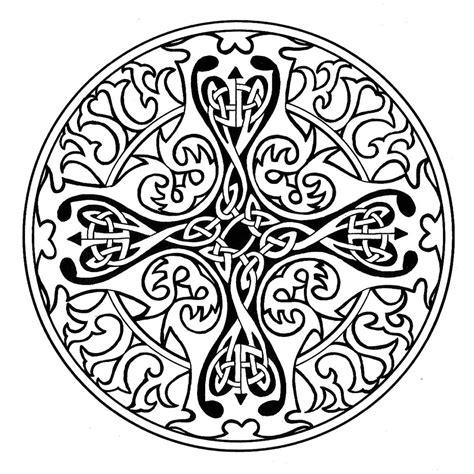 Coloring Pages Celtic Mandala Coloring Pages Celtic
