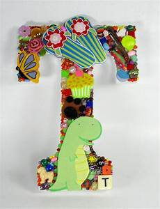 large toy letter t With letter writing toy