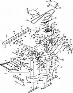 The Mower Shop  Inc 321d 2006 52 Inch Deck Assembly