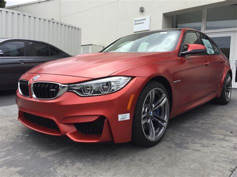 Individual Frozen Red Bmw M3 Gets Stolen And Crashed In
