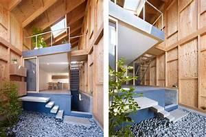 Maison Design En Bois Avec Patio