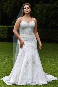 plus size wedding dresses a simple guide modwedding With large size wedding dresses