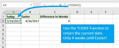 tips calculating week numbers excel excel campus