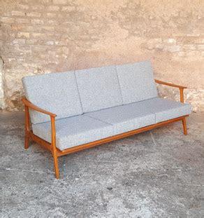 canapé alsace canapé scandinave vintage tissu kvadrat rénové