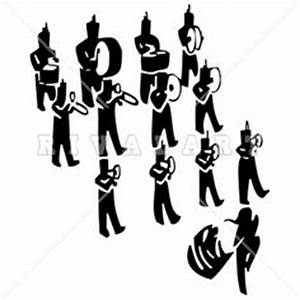 Sports Clipart Image of A Marching Band Drum Major | Band ...
