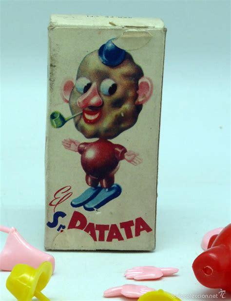 sr patata mu 241 eco desmontable pl 225 stico con caja comprar juguetes antiguos de otras marcas