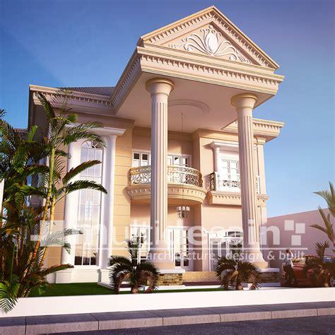 rumah mewah bergaya klasik  jambi multidesain arsitek