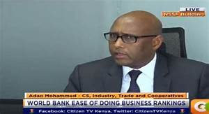 Kenya ranked 3rd in World Bank Ease of Doing Business ...