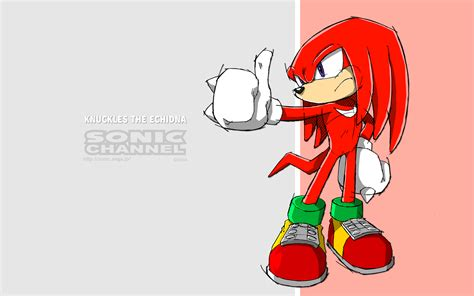 knuckles  echidna sonic channel gallery