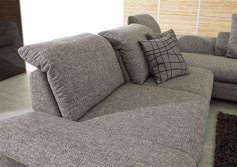 canap cuir ou tissu canapé 3 places lineflex avec très grande chaise longue