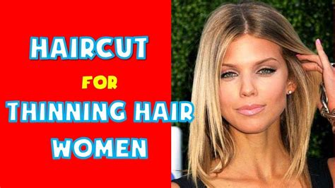 haircut for thinning hair best hairstyles for thin hair ideas youtube