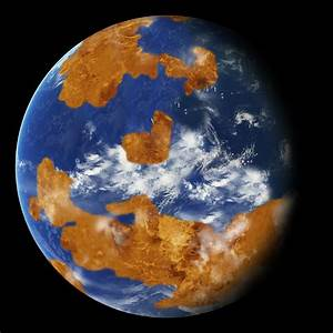 Venus Once Had a Habitable Surface and Shallow Water ...