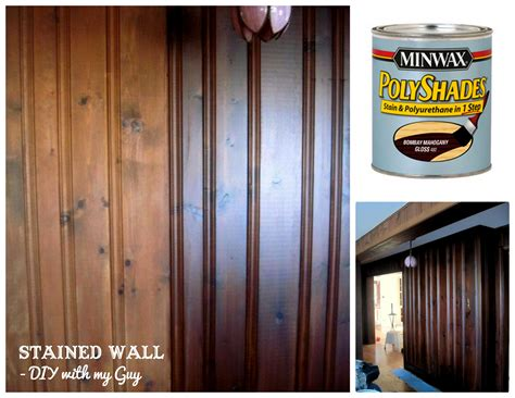 How To Stain Old Wood Paneling Without Sandingcould